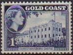 Sellos del Mundo : America : Islas_Virgenes : COSTA DE ORO GOLD COAST 1952 Yvert151 Sello Nuevo Serie Basica