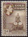 Sellos del Mundo : America : Islas_Virgenes : COSTA DE ORO GOLD COAST 1952 Yvert155  Sello Nuevo Serie Basica