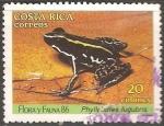 Sellos del Mundo : America : Costa_Rica : Phyllobates lugubris-