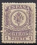 Sellos del Mundo : Europa : España : sellos para giro postal