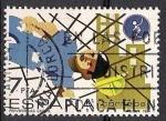 Sellos del Mundo : Europa : España : prevencion de riesgos laborales