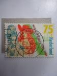 Sellos de Europa - Holanda -  William III and Mery II 1688-1988- (MiNL:1346 - Yt/NL:1316)