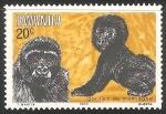 Sellos del Mundo : Africa : Rwanda : Gorilas de montaña