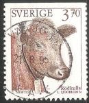 Sellos del Mundo : Europa : Suecia : Vaca