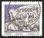 Sellos del Mundo : Europa : Suecia : Snoleopard-Leopardo de nieve