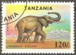 Sellos del Mundo : Africa : Tanzania : Loxodonta africana-elefante africano