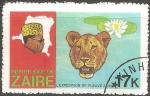 Sellos del Mundo : Africa : República_del_Congo : Zaire-leon