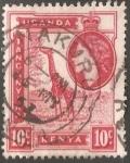 Sellos de Africa - Kenya -  Jirafa