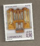 Sellos del Mundo : Europa : Luxemburgo : Organos musicales