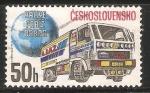 Sellos del Mundo : Europa : Checoslovaquia : Rally Pariz-Dakar