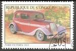 Sellos del Mundo : Africa : República_del_Congo : Voitures Anciennes-coches antiguos