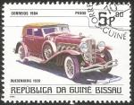 Sellos del Mundo : Africa : Guinea_Bissau : Duesenberg 1928
