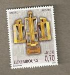 Sellos de Europa - Luxemburgo -  Organos musicales