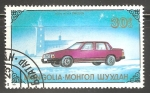 Sellos de Asia - Mongolia -   Volvo 760 GLF