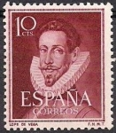 Sellos del Mundo : Europa : España : lope de vega