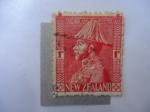 Sellos de Oceania - Nueva Zelanda -  jorge V - Scott/Nz:184