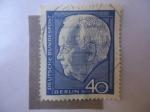 Sellos de Europa - Alemania -  Heinrich Lubke  (1892-1972)