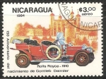 Sellos de America - Nicaragua -  Roll Royce 1910