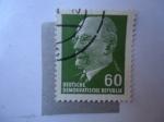 Sellos de Europa - Alemania -  Walter Ulbricht