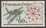 Sellos del Mundo : Europa : Checoslovaquia : Letadlo avion
