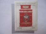 Sellos de America - Perú -  Buzon - Museo Postal y Filatelico 1931-1981.