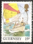 Sellos del Mundo : Europa : República_Checa : Guernsey - velero