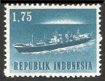Sellos del Mundo : Asia : Indonesia : Barco