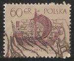 Sellos del Mundo : Europa : Polonia : koga statek fryzyjski