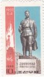 Sellos de Asia - Corea del norte -  estatua
