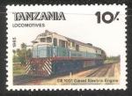 Sellos del Mundo : Africa : Tanzania : Locomotives