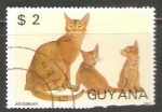 Sellos del Mundo : America : Guyana : Abyssinian
