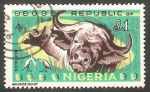 Sellos de Africa - Nigeria -  190 - Búfalos