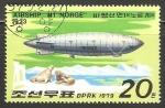 Sellos de Asia - Corea del norte -  Airship N1 Norge