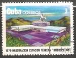 Sellos del Mundo : America : Curazao : Inauguracion estacion terrena