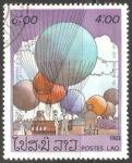 Sellos del Mundo : Asia : Laos :  Air Balloons