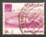 Sellos del Mundo : Asia : Bangladesh : Pescado