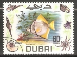 Sellos de Asia - Emiratos Árabes Unidos -  Moonfish