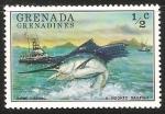 Sellos del Mundo : America : Granada : Game fishing