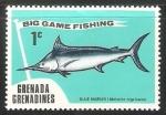 Sellos de America - Granada -  Big game fishing