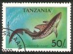 Sellos del Mundo : Africa : Tanzania : Galeocerdo cuvier