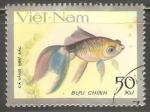 Sellos de Asia - Vietnam -  Pez