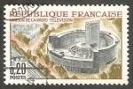 Sellos de Europa - Francia -  1402 - Edificio de Radiodifusión y Televisión, en Paris