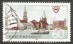 Sellos de Europa - Alemania -  1425 - 750 Anivº de la ciudad de Kiel