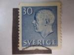 Sellos de Europa - Suecia -  Gustavo VI - Adolfo de Suecia - Scott/Suecia: 508