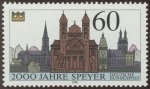 Sellos del Mundo : Europa : Alemania : ALEMANIA - Catedral de Espira