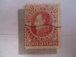 Sellos de America - Colombia -  Correos de Bolivar- 1879 - EE.UU de Colombia.