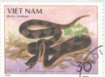 Sellos de Asia - Vietnam -  serpiente