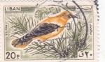 Sellos de Asia - Líbano -  ave