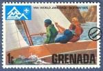 Sellos del Mundo : America : Granada : 14º Jamboree del Mundial en Noruega 1975