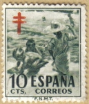 Sellos de Europa - España -  Cruz de Lorena